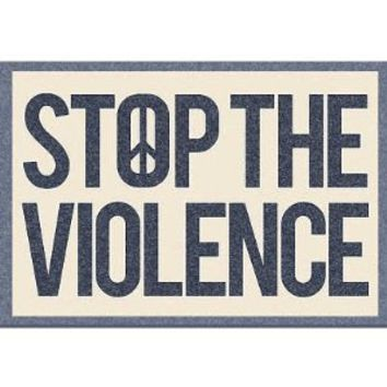 Stop the Violence Art Print Poster
