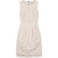 Stella McCartney Floral-cutout cotton dress - Polyvore