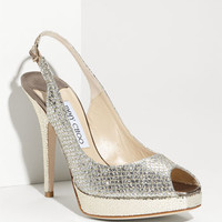 Jimmy Choo 'Clue' Glitter Slingback Pump (Nordstrom Exclusive Color) | Nordstrom