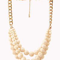 Striking Multi-Layer Bead Necklace