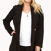 City-Chic Wool Trench Coat