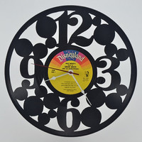 Vinyl Record Album Wall Clock (artist is Disneyland Snow White & the seven dwarfs)
