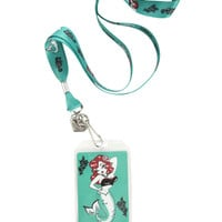 Fluff Molly Mermaid Lanyard