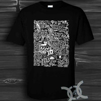 1D One Direction Black Design By Custom And Clothing T-Shirt men size S,M,L,XL