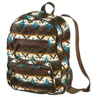 Mossimo Supply Co. Geometric Print Backpack - Brown