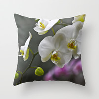 Longing Throw Pillow by Ann B.