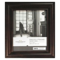 Threshold™ Wood Mantel Frame - Stained Walnut 8x10