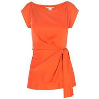 Diane von furstenberg tops ORANGE - Polyvore