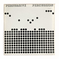 "Josef Albers record album design, 1959. ""Persuasive Percussion"" LP"