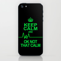 Keep Calm iPhone & iPod Skin by Alice Gosling