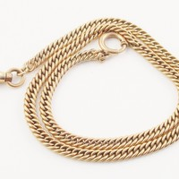 Vintage Rose Gold Fill Pocket Watch Chain Simmons