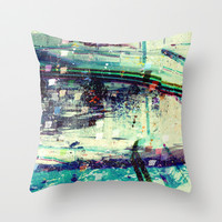 Cold Stone Throw Pillow by Lynsey Ledray