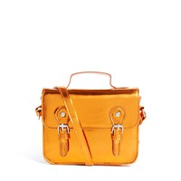 ASOS Mini Satchel Bag With Metal Buckles