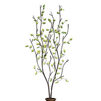 39-Inch Battery Operated Green Leaf LED Lighted Branches