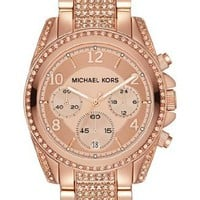 Michael Kors 'Blair' Pavé Crystal Bracelet Watch MK5821