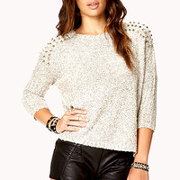 Studded Dolman Sweater