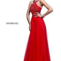 Sherri Hill Prom Dress 21338 at Peaches Boutique