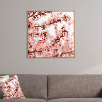 Lisa Argyropoulos Blissfully Pink Framed Wall Art