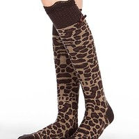 Blazin Roxx Animal Print Socks