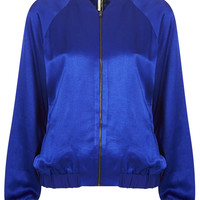 Lux Shine Bomber Jacket