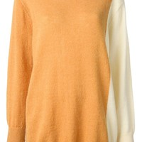 FURANSU 'Natalie' oversized colour block jumper