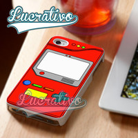 Pokemon Pokedex Gameboy - iPhone 4/4s/5/5s/5c Case - Samsung Galaxy S2/S3/S4 Case - Black or White