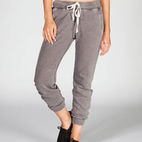 CELEBRITY PINK Burnout Womens French Terry Sweatpants