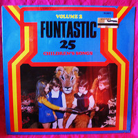 Funtastic 25 Childrens Songs Vol 2 Vinyl Record LP 33 ERA  BU4952 1982 Sealed