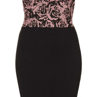**STRAPLESS DANNI BODYCON DRESS BY ANNIE GREENABELLE