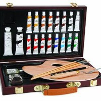 Darice Studio 71 Painting Set, Wood Box