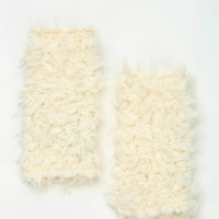 Furry Fingerless Glove - Urban Outfitters