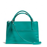 THE BOROUGH BAG IN POLISHED CALFSKIN