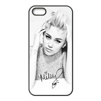 CreateDesigned Miley Cyrus Case Cover for Apple Iphone 5 5S TPU Case I5CD00820