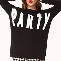 Striking Party Sweatshirt