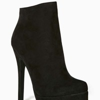 Shoe Cult Veronika Platform Bootie - Black