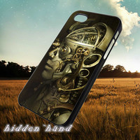Steampunk Robot,Case,Cell Phone,iPhone 5/5S/5C,iPhone 4/4S,Samsung Galaxy S3,Samsung Galaxy S4,Rubber,11/07/3/Nt
