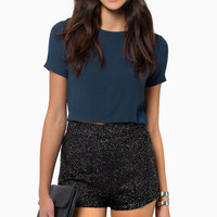 Diva Sequin Shorts $39