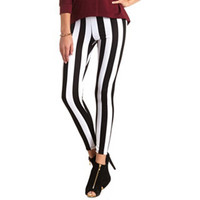 STRIPE PONTE STRETCH LEGGING