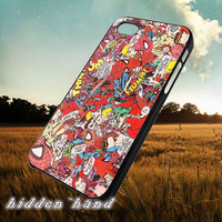 Spiderman Vintage Comic,Case,Cell Phone,iPhone 5/5S/5C,iPhone 4/4S,Samsung Galaxy S3,Samsung Galaxy S4,Rubber,11/07/5/Jk