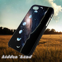 Moon Phases Galaxy,Case,Cell Phone,iPhone 5/5S/5C,iPhone 4/4S,Samsung Galaxy S3,Samsung Galaxy S4,Rubber,11/07/13/Jk