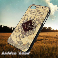 Harry Potter Marauders Map,Case,Cell Phone,iPhone 5/5S/5C,iPhone 4/4S,Samsung Galaxy S3,Samsung Galaxy S4,Rubber,13/07/15/Ar