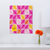 Heather Dutton Facets Bright Rectangular Magnet Board