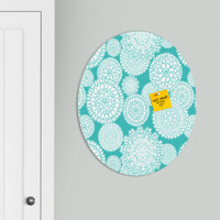 Heather Dutton Delightful Doilies Tiffany Oval Magnet Board