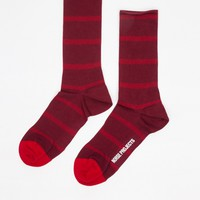 Norse Projects / Bjarki Double Stripe in Red