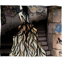 Amy Smith Escape Fleece Throw Blanket