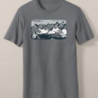 Classic Fit Graphic T-Shirt - Pacific Northwest Pow | Eddie Bauer