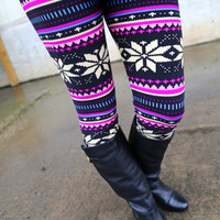 Berry Merry Christmas {Leggings}