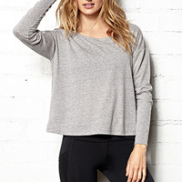 Long Sleeve Studio Top