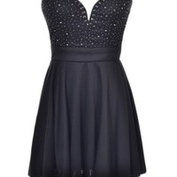 Sweetheart Beaded Dress