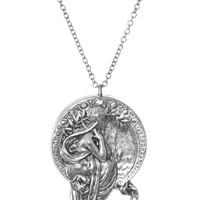 Alphonse Mucha Poetry Necklace